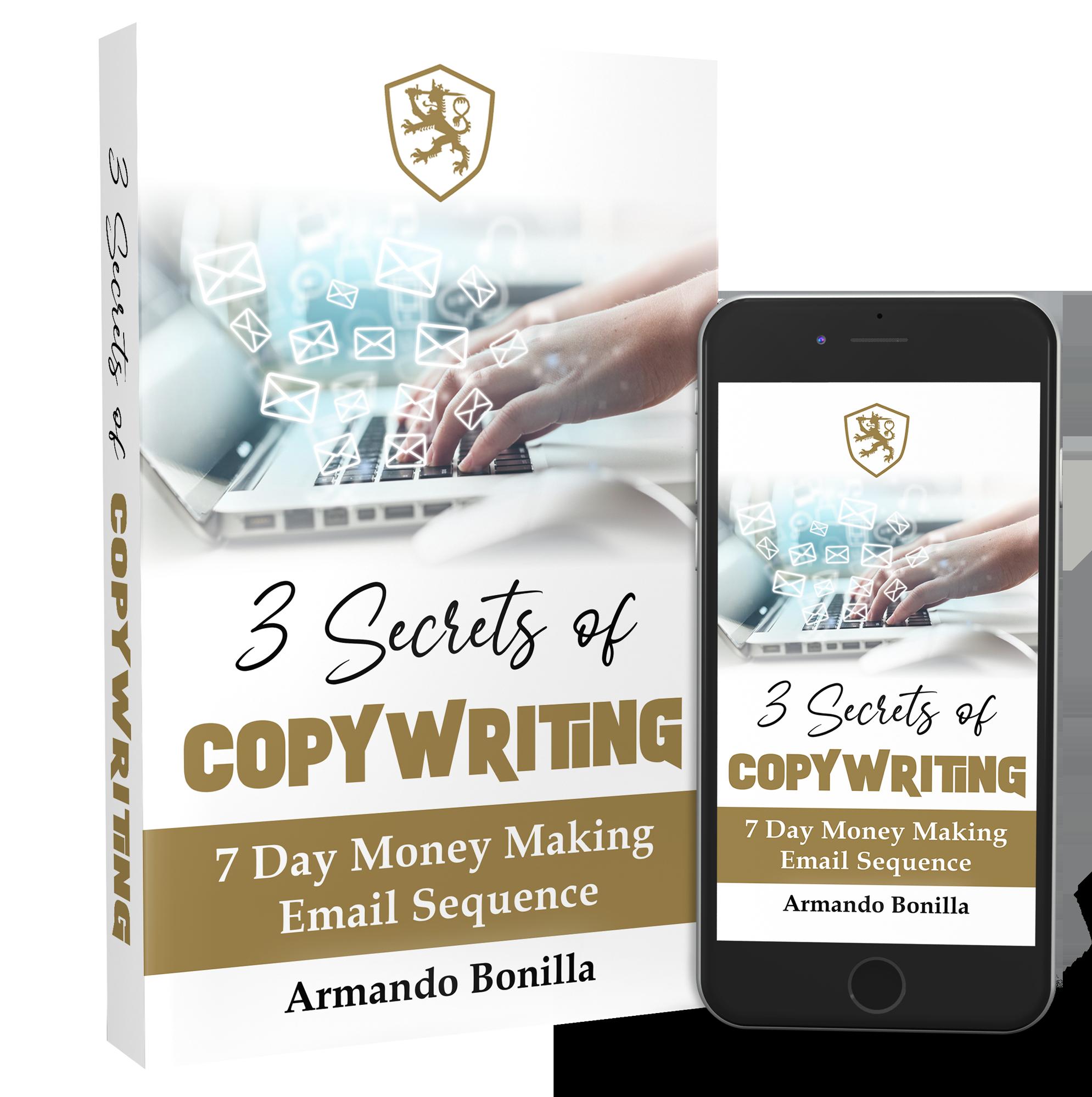 3 secrets of copy writting Ebook